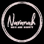Navanah Beauty Logo Footer